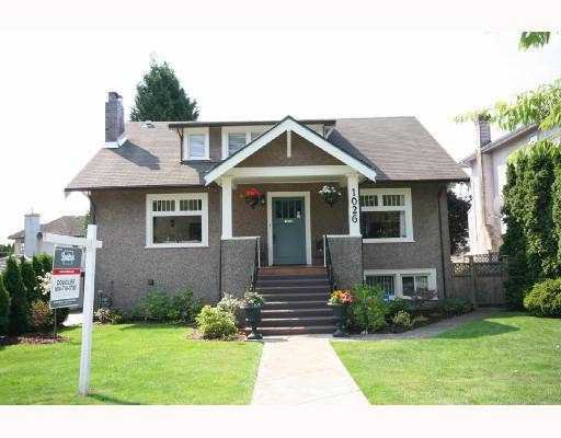 Main Photo: 1026 W 59TH Avenue in Vancouver: South Granville House for sale (Vancouver West)  : MLS®# V757345