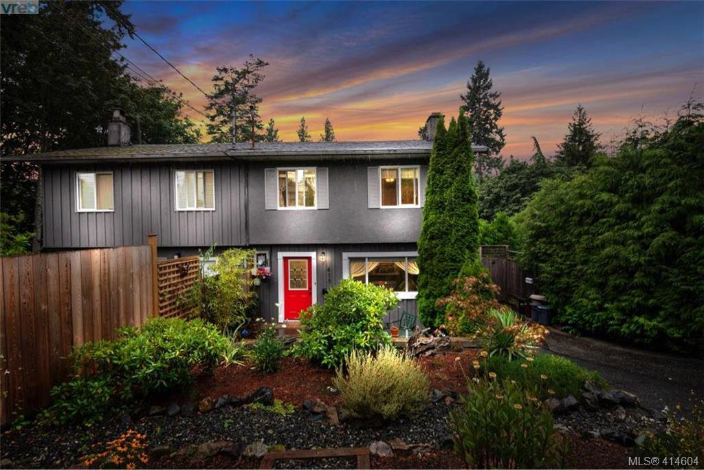 Main Photo: 415 Atkins Ave in VICTORIA: La Atkins Half Duplex for sale (Langford)  : MLS®# 822113