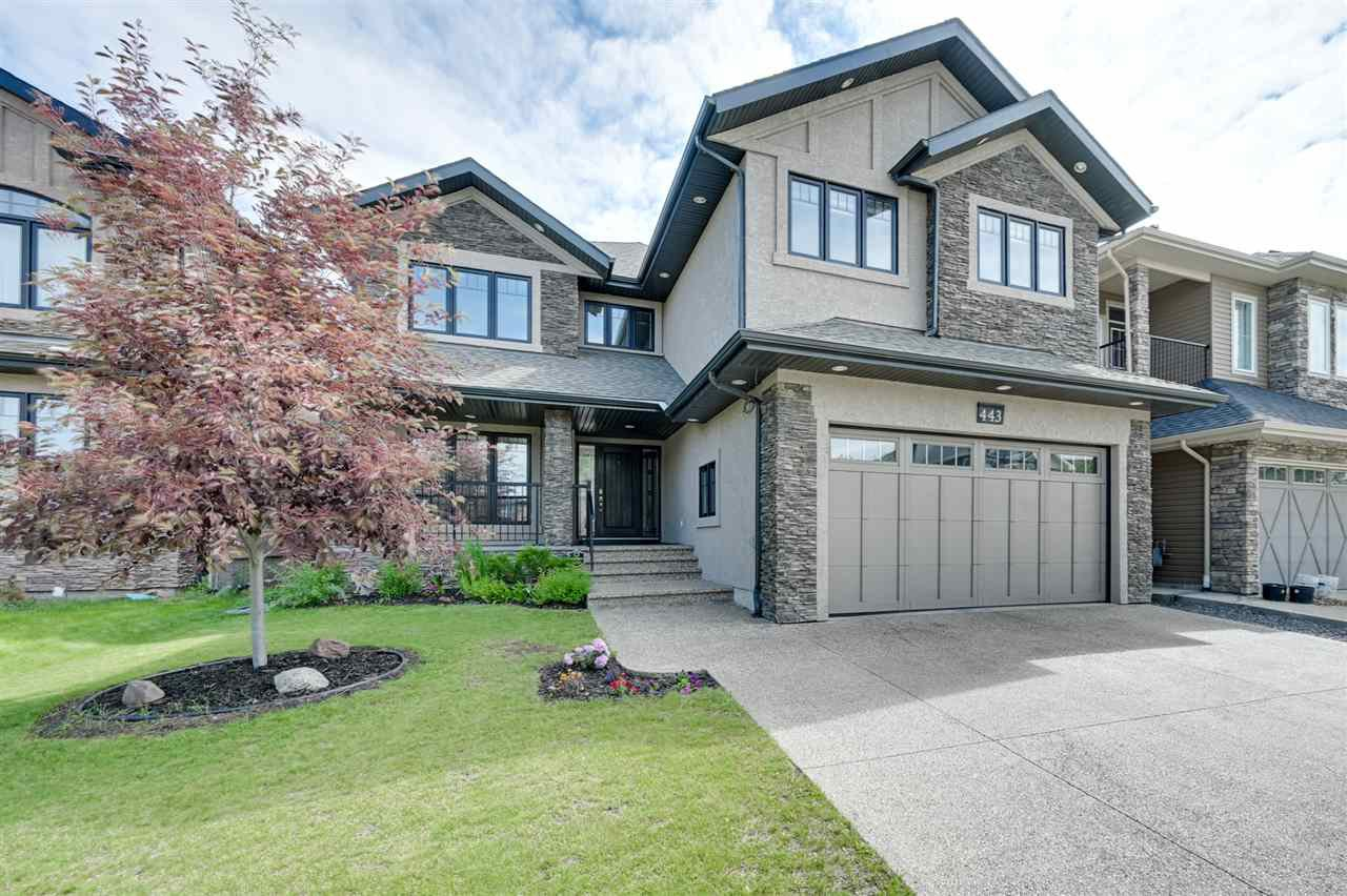 Main Photo: 443 WINDERMERE Road in Edmonton: Zone 56 House for sale : MLS®# E4179357