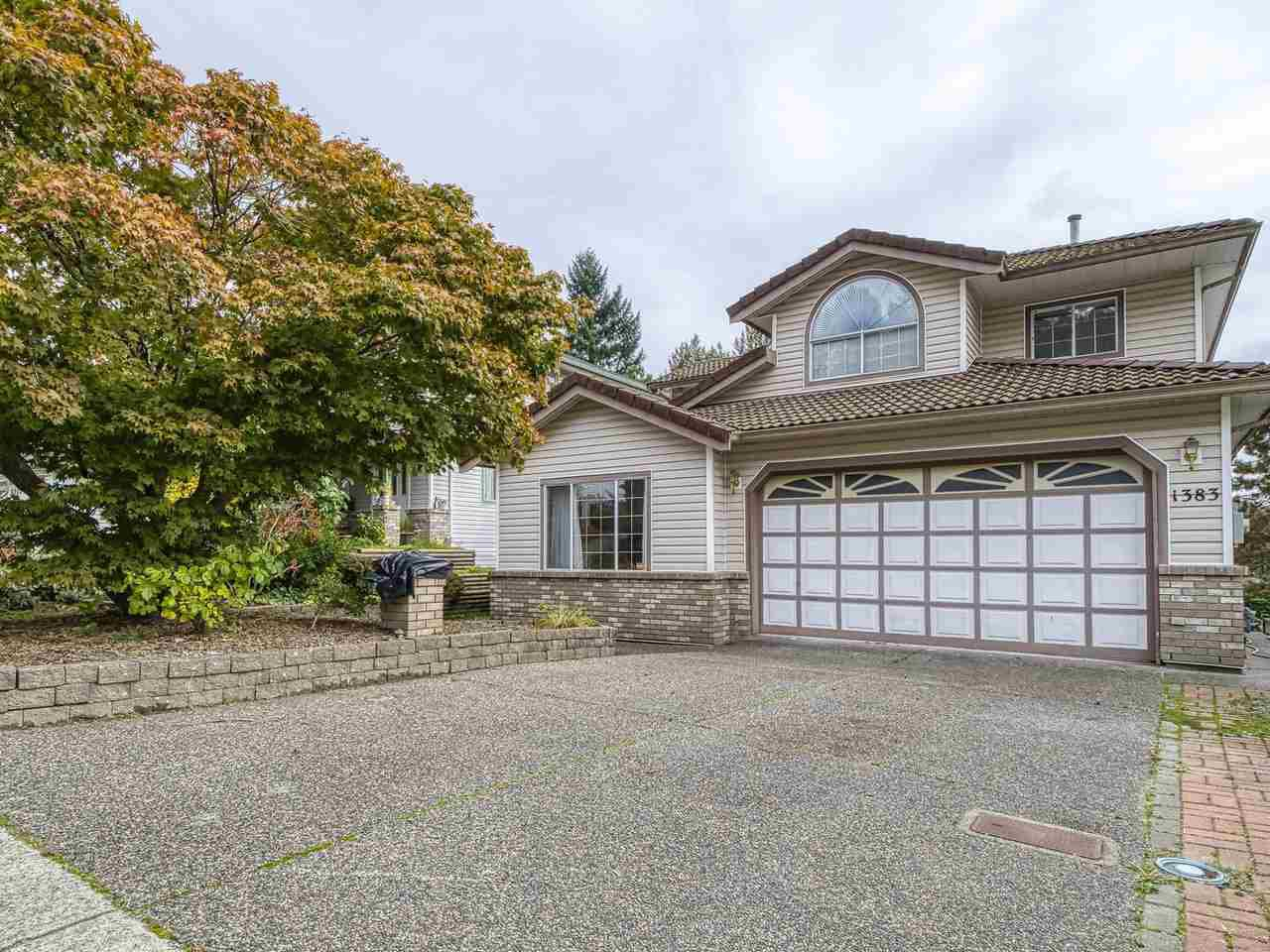 Main Photo: 1383 KENNEY STREET in Coquitlam: Westwood Plateau House for sale : MLS®# R2408876