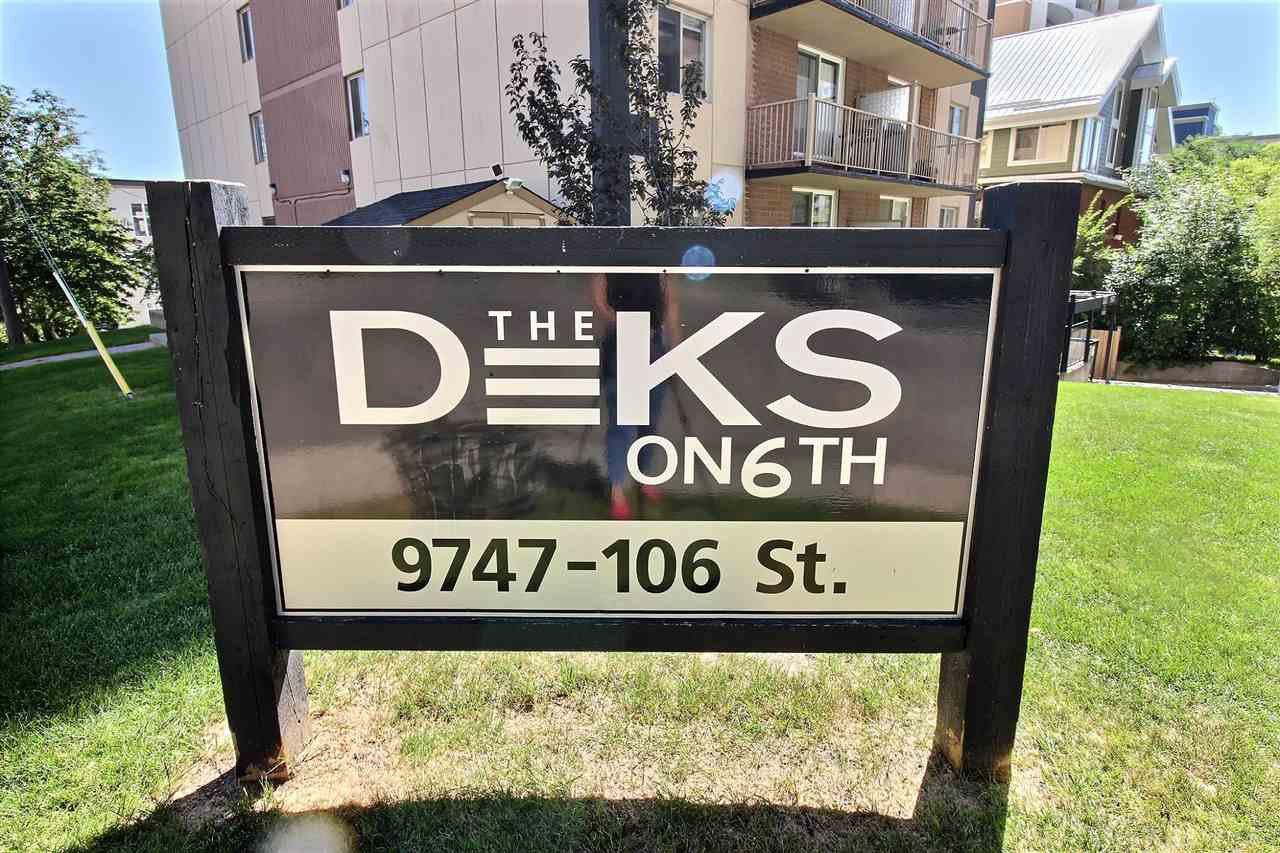 Main Photo: 303 9747 106 Street in Edmonton: Zone 12 Condo for sale : MLS®# E4212089