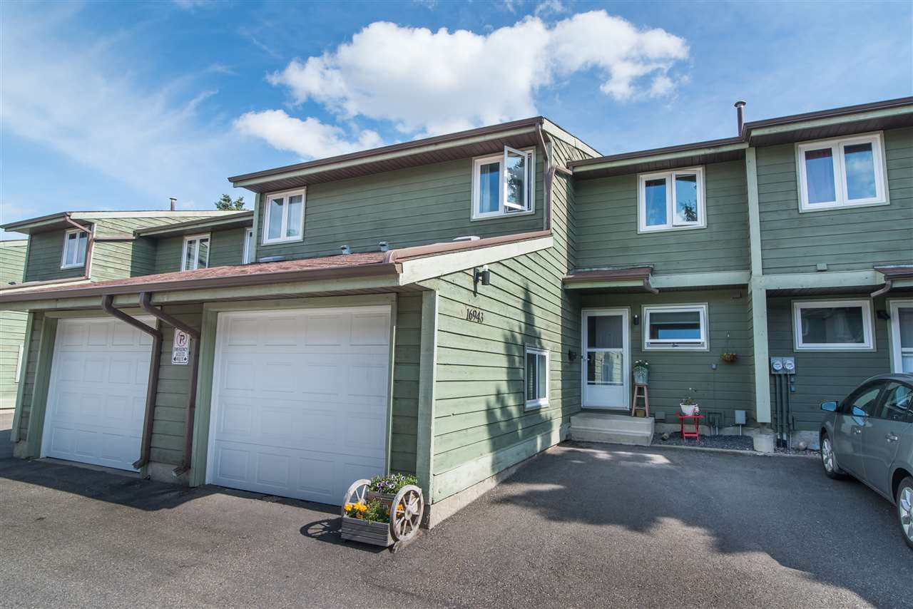 Main Photo: 16943 95 Street in Edmonton: Zone 28 Townhouse for sale : MLS®# E4167368