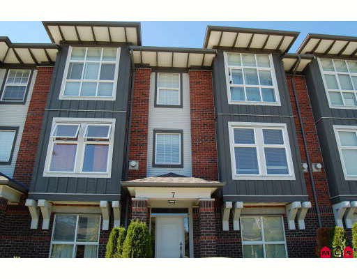 "Main Photo: 7 18777 68A Avenue in Surrey: Clayton Townhouse for sale in ""COMPASS"" (Cloverdale)  : MLS®# F2921133"