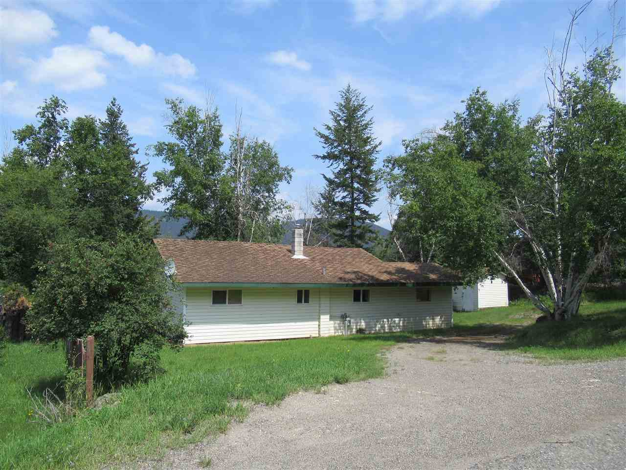Main Photo: 1712 RENNER Road in Williams Lake: Williams Lake - City House for sale (Williams Lake (Zone 27))  : MLS®# R2390276