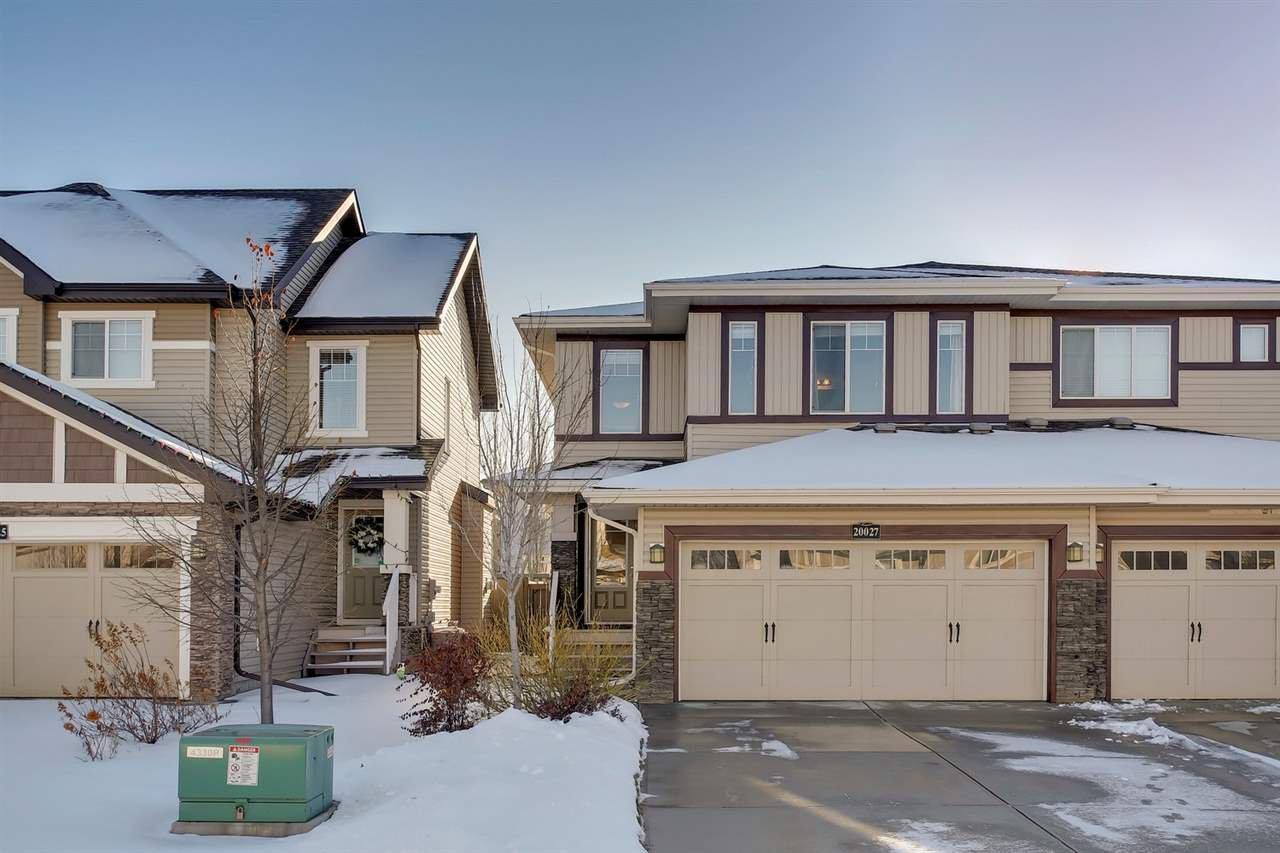 Main Photo: 20027 131 Avenue in Edmonton: Zone 59 House Half Duplex for sale : MLS®# E4179961
