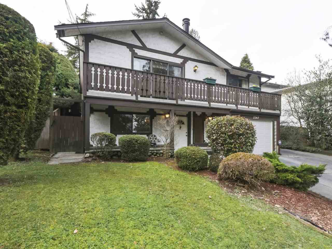 Main Photo: 2267 CAPE HORN AVENUE in Coquitlam: Cape Horn House for sale : MLS®# R2439351