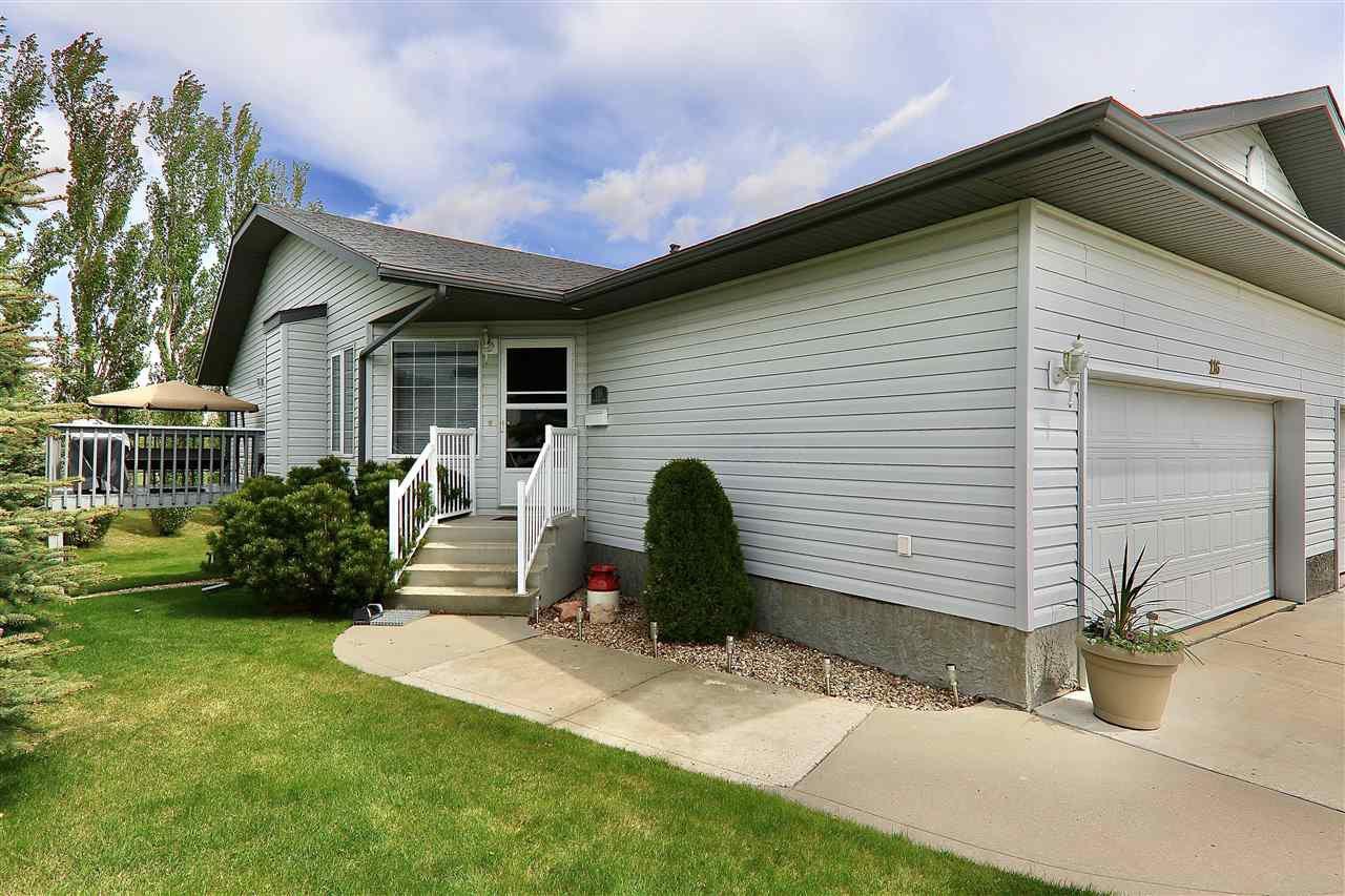 Main Photo: 116 7000 Northview Drive: Wetaskiwin House Half Duplex for sale : MLS®# E4198883