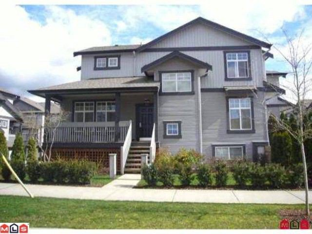 "Main Photo: 32 18828 69TH Avenue in Surrey: Clayton Townhouse for sale in ""Star Pointe"" (Cloverdale)  : MLS®# F1026990"