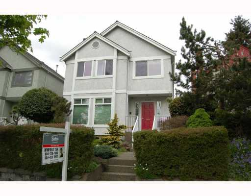 Main Photo: 4169 W 16TH Avenue in Vancouver: Point Grey House for sale (Vancouver West)  : MLS®# V765037