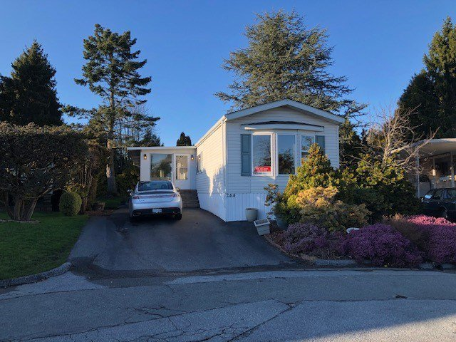 Main Photo: 244 1840 160TH Street in Surrey: King George Corridor Manufactured Home for sale (South Surrey White Rock)  : MLS®# R2440439