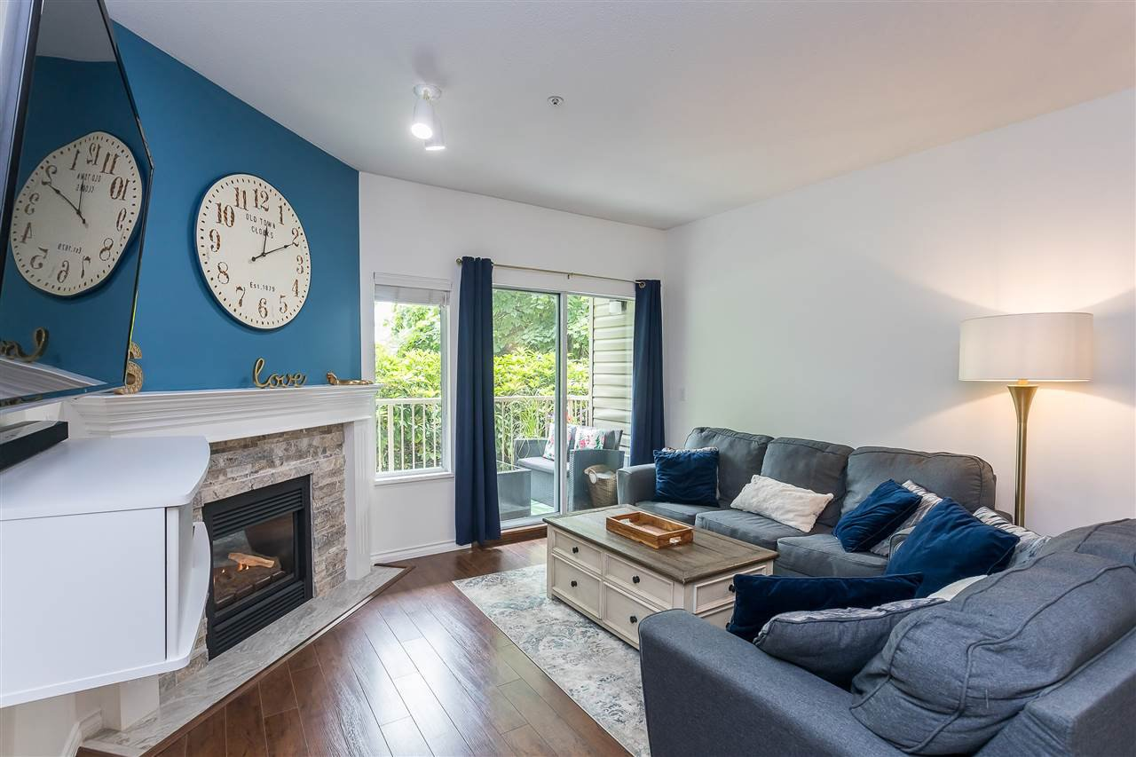 """Main Photo: 106 5489 201 Street in Langley: Langley City Condo for sale in """"CANIM COURT"""" : MLS®# R2491449"""