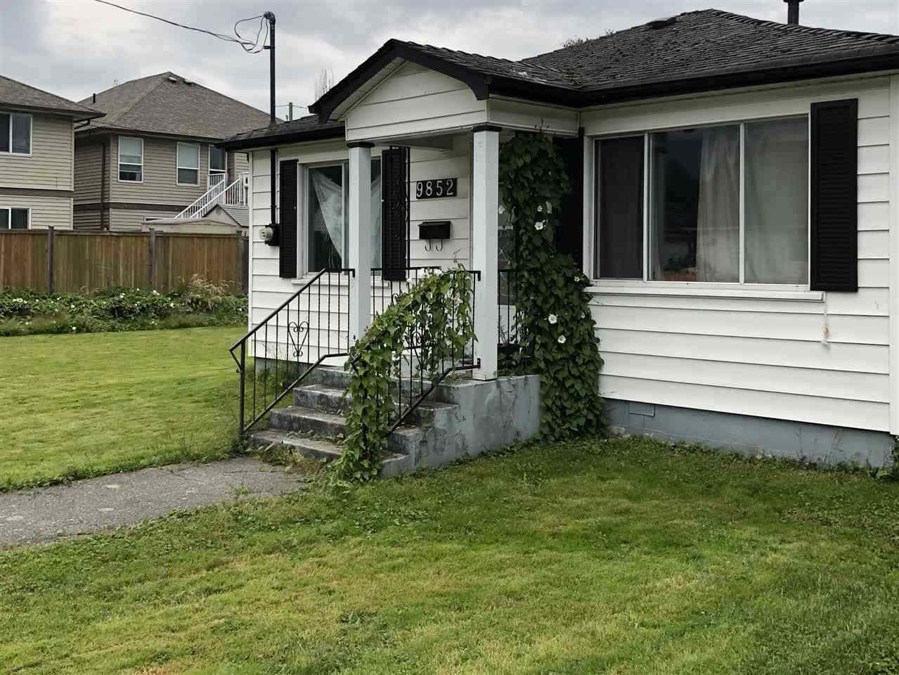 Main Photo: 9852 YOUNG Road in Chilliwack: Chilliwack N Yale-Well House for sale : MLS®# R2518809