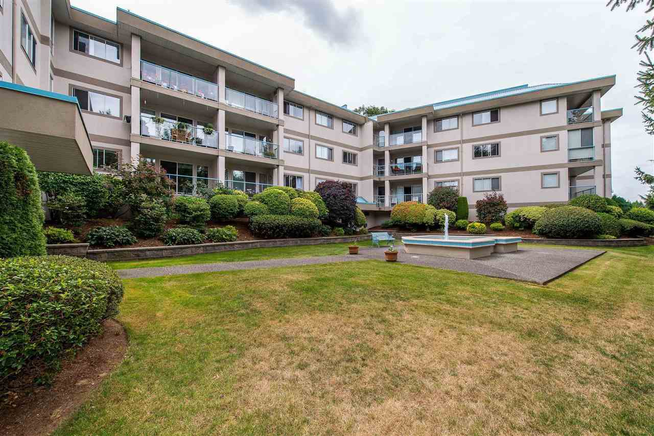 """Main Photo: 315 33090 GEORGE FERGUSON Way in Abbotsford: Central Abbotsford Condo for sale in """"Tiffany Place"""" : MLS®# R2526126"""