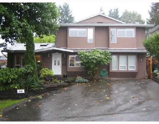 Main Photo: 314 BEGIN Street in Coquitlam: Maillardville House for sale : MLS®# V739318