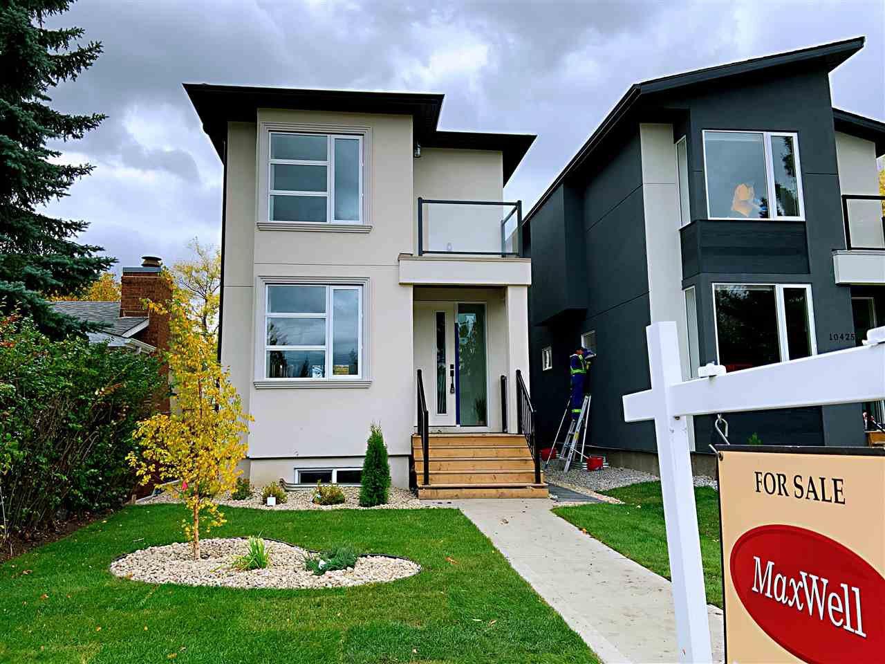 Main Photo: 10423 52 Avenue in Edmonton: Zone 15 House for sale : MLS®# E4174378