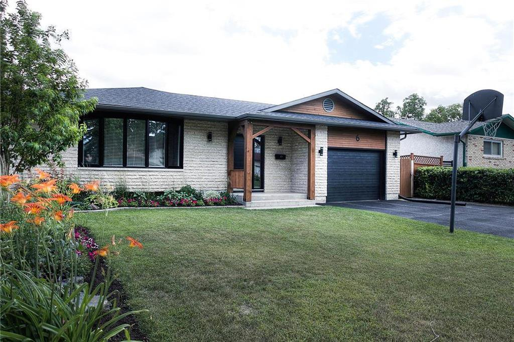 Main Photo: 6 John Taylor Place in Winnipeg: Valley Gardens Single Family Detached for sale (3E)  : MLS®# 202016891