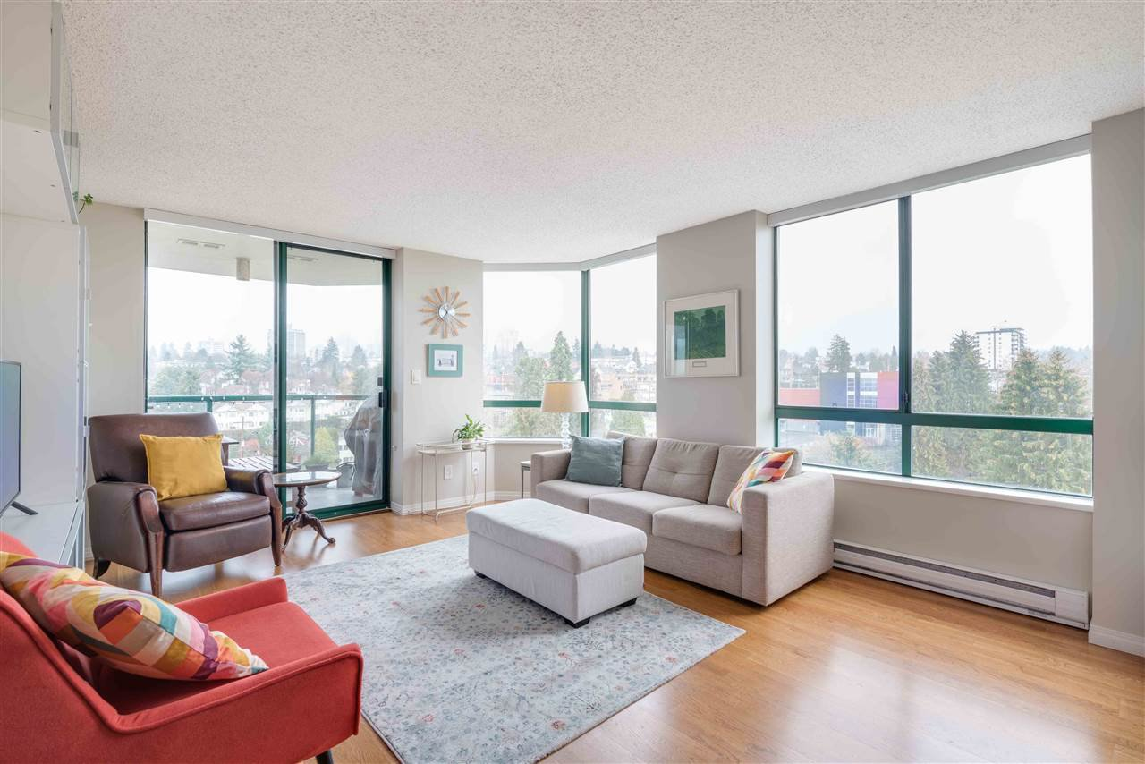 """Main Photo: 1206 121 TENTH Street in New Westminster: Downtown NW Condo for sale in """"Vista Royale"""" : MLS®# R2525763"""