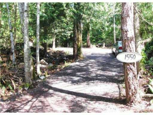 Main Photo: 1550 ADAMS Road: Bowen Island Land for sale : MLS®# V845602