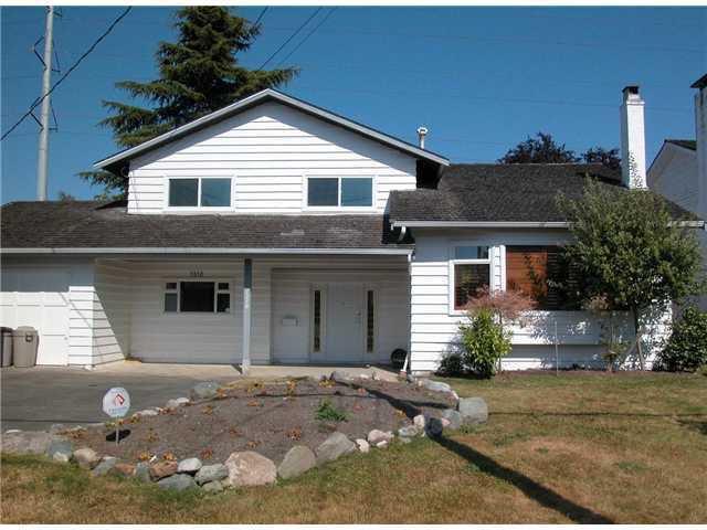 "Main Photo: 1310 53A Street in Tsawwassen: Cliff Drive House for sale in ""TSAWWASSEN HEIGHTS"" : MLS®# V865232"