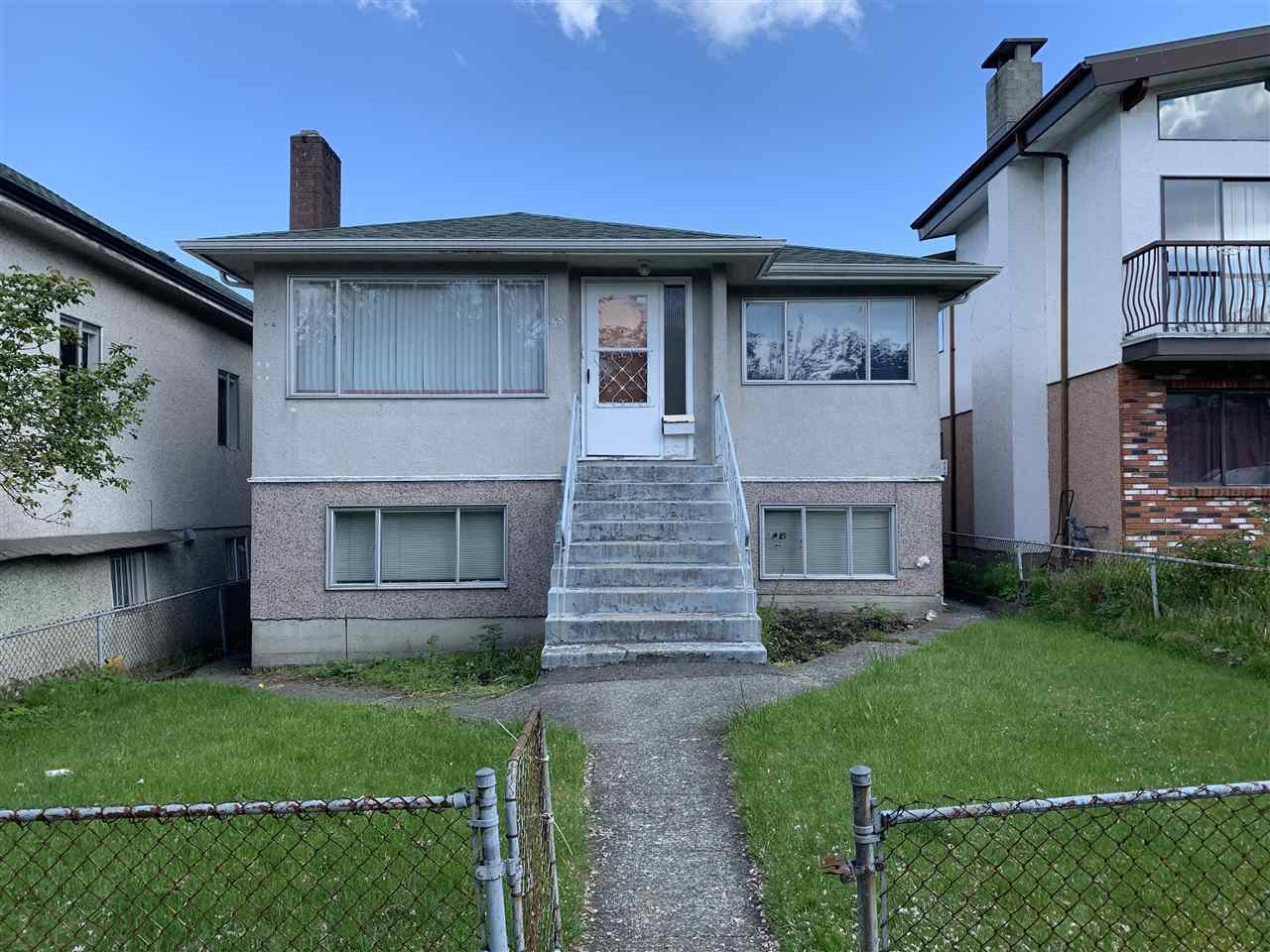 Main Photo: 531 E 18TH Avenue in Vancouver: Fraser VE House for sale (Vancouver East)  : MLS®# R2454047