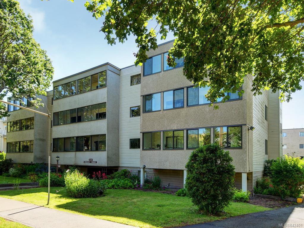 Main Photo: 205 2610 Graham St in Victoria: Vi Hillside Condo Apartment for sale : MLS®# 842401