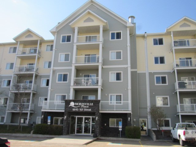 Main Photo: 320, 9910 107 Street in Morinville: Condo for rent