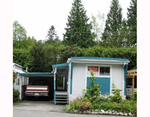 """Main Photo: 12 4200 DEWDNEY TRUNK Road in Coquitlam: Ranch Park Manufactured Home for sale in """"HIDEAWAY PARK"""" : MLS®# V809823"""