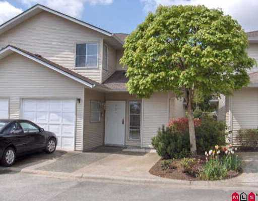 "Main Photo: 13 16016 82ND AV in Surrey: Fleetwood Tynehead Townhouse for sale in ""Maple Court"" : MLS®# F2609625"