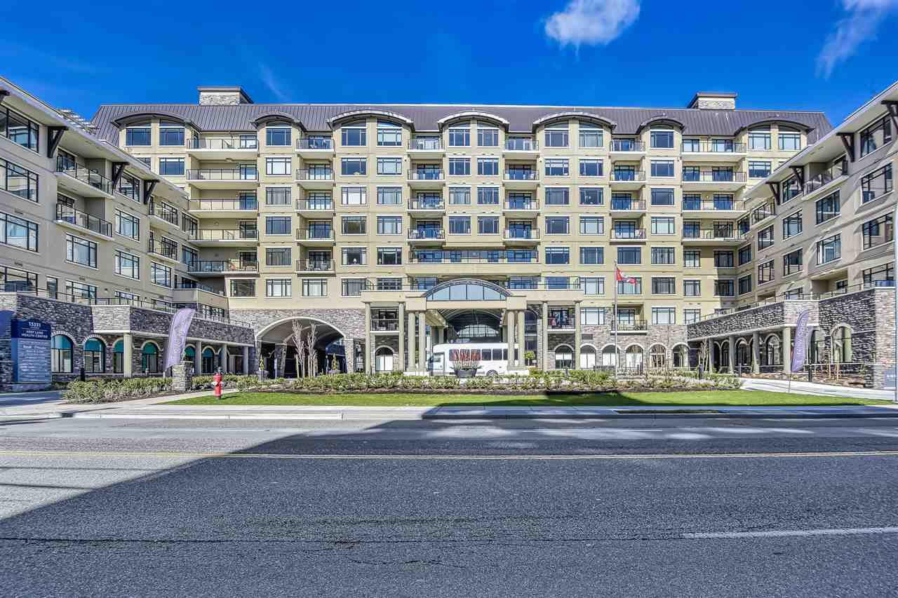 """Main Photo: 812 15333 16 Avenue in Surrey: King George Corridor Condo for sale in """"THE RESIDENCE OF ABBY LANE"""" (South Surrey White Rock)  : MLS®# R2455911"""