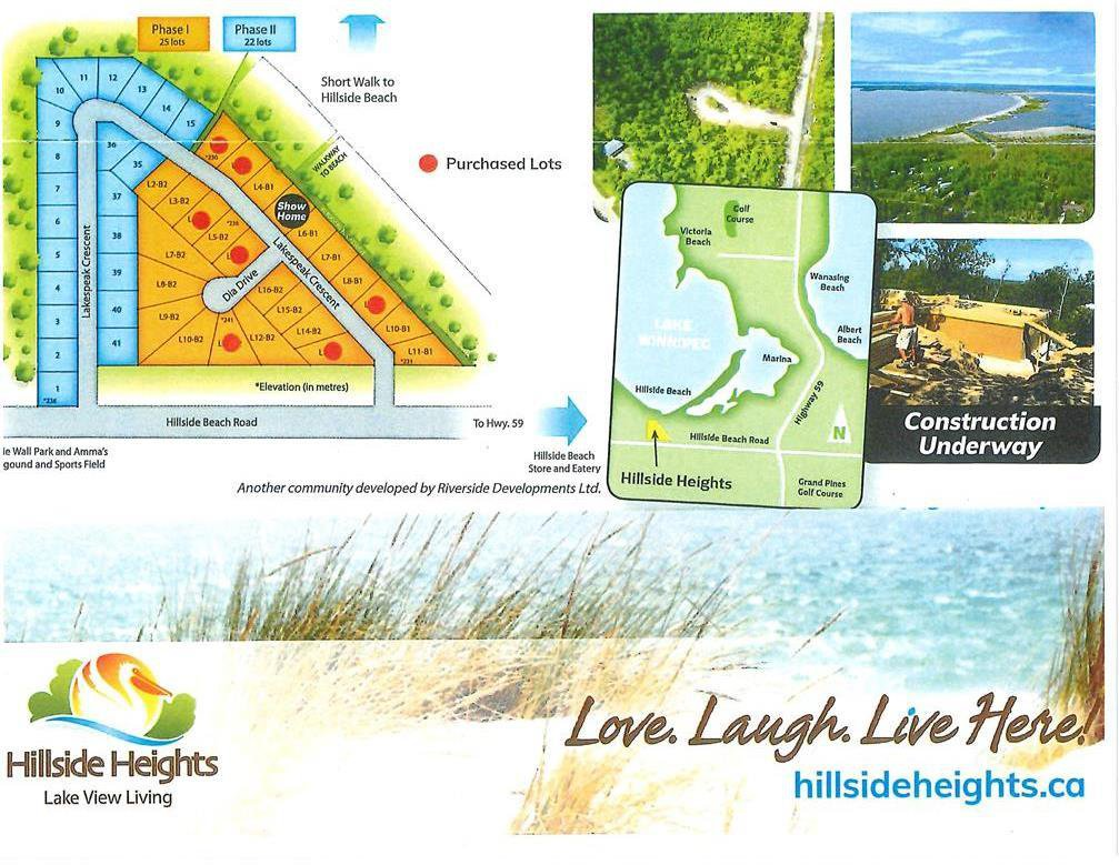 Main Photo: 9 Dia DR in Hillside Beach: Vacant Land for sale : MLS®# 202027718