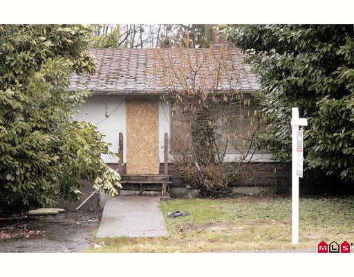 Main Photo: 13565 HILTON Road in Surrey: Bolivar Heights House for sale (North Surrey)  : MLS®# F2903662