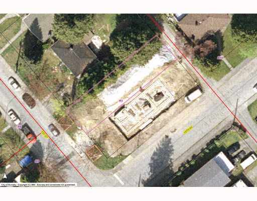 "Main Photo: 7268 1ST Street in Burnaby: Burnaby Lake Land for sale in ""EAST BURNABY"" (Burnaby South)  : MLS®# V768822"