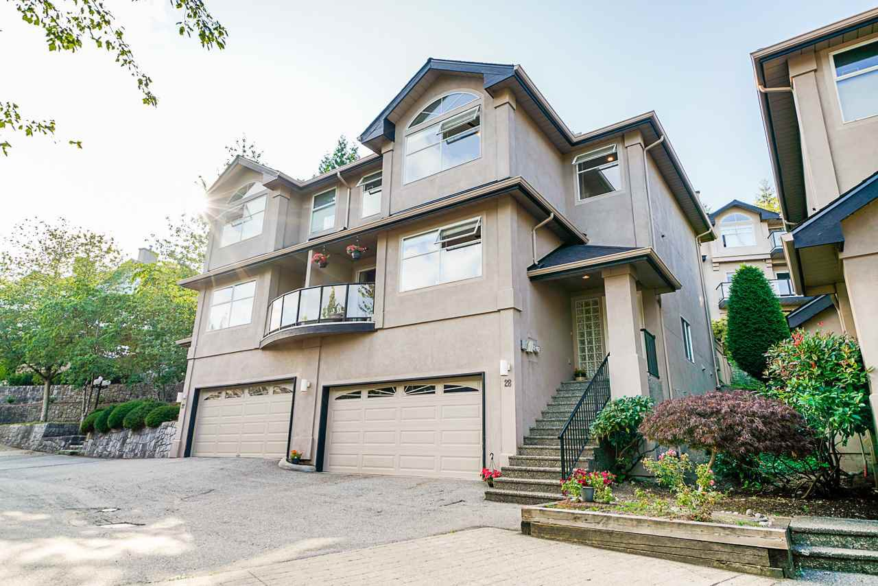 Main Photo: 28 2951 PANORAMA Drive in Coquitlam: Westwood Plateau Townhouse for sale : MLS®# R2396991