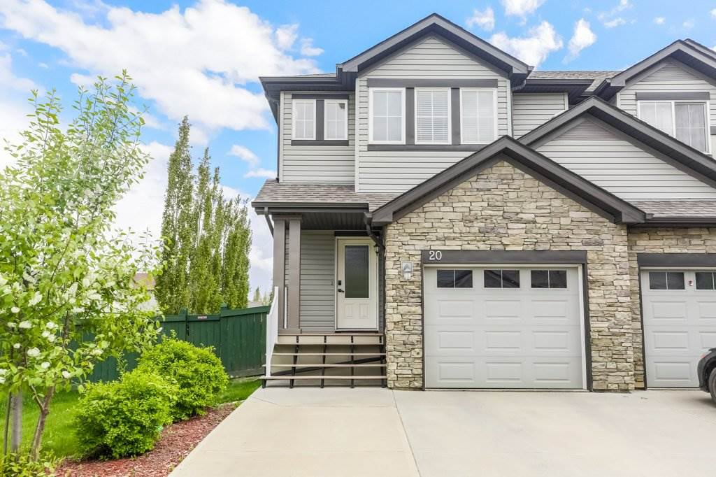 Main Photo: 20 9231 213 Street in Edmonton: Zone 58 Townhouse for sale : MLS®# E4199089