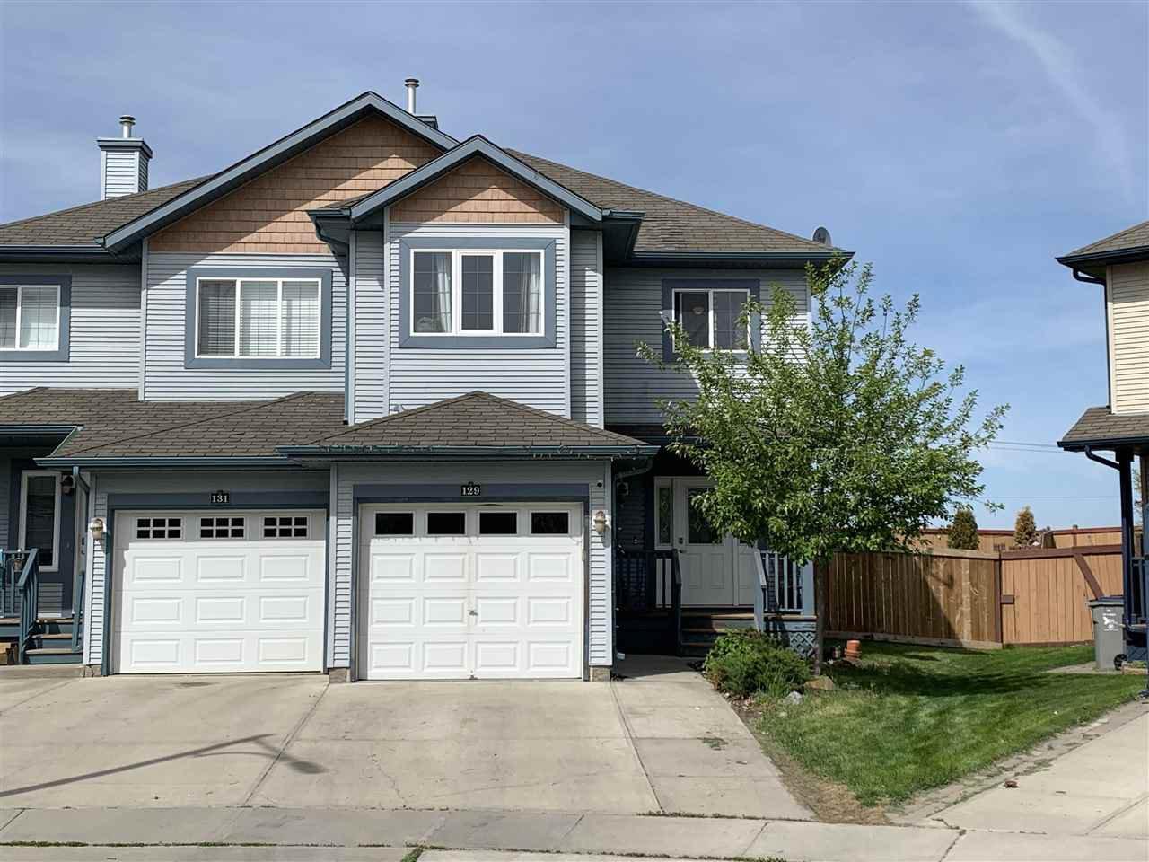 Main Photo: 129 RUE MAGNAN: Beaumont House Half Duplex for sale : MLS®# E4200631