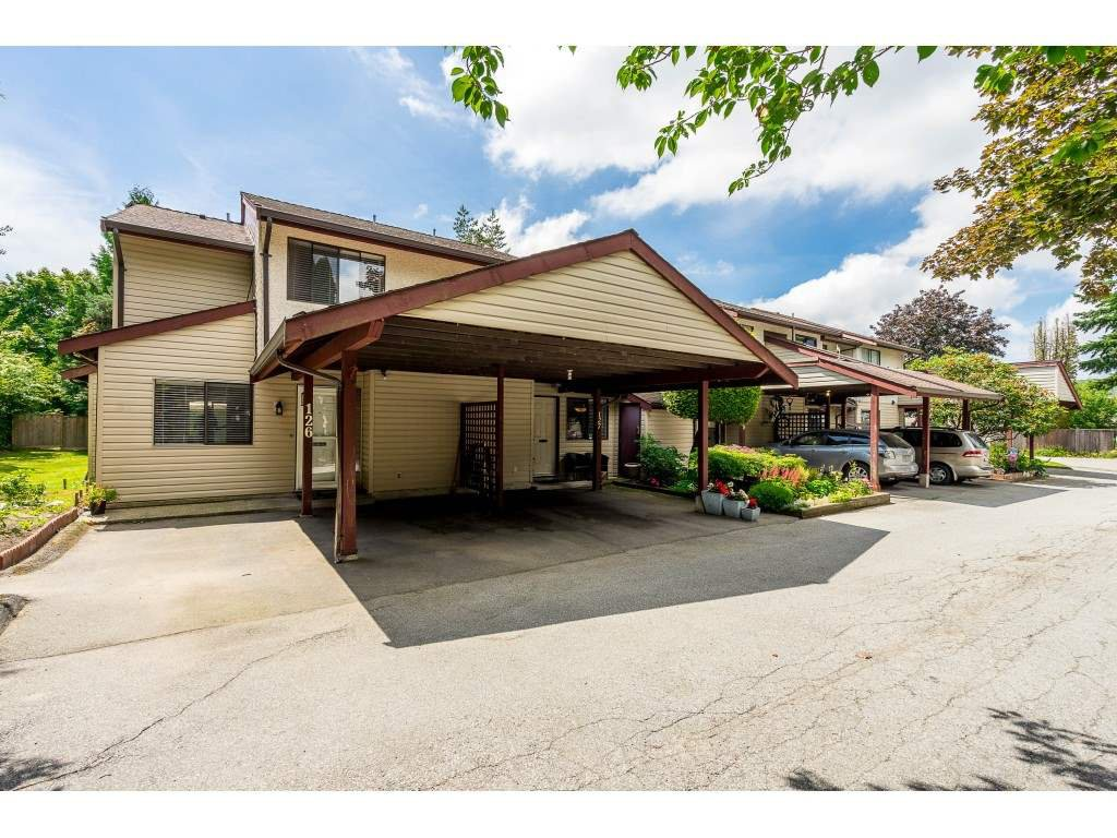 """Main Photo: 127 13880 74 Avenue in Surrey: East Newton Townhouse for sale in """"WEDGEWOOD ESTATES"""" : MLS®# R2469175"""