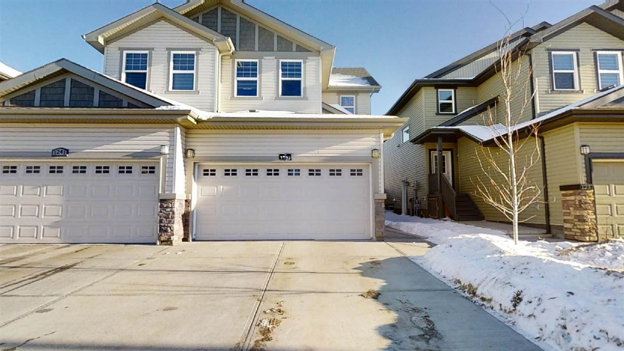 Main Photo: 1239 27 Street NW in Edmonton: Zone 30 House Half Duplex for sale : MLS®# E4222226