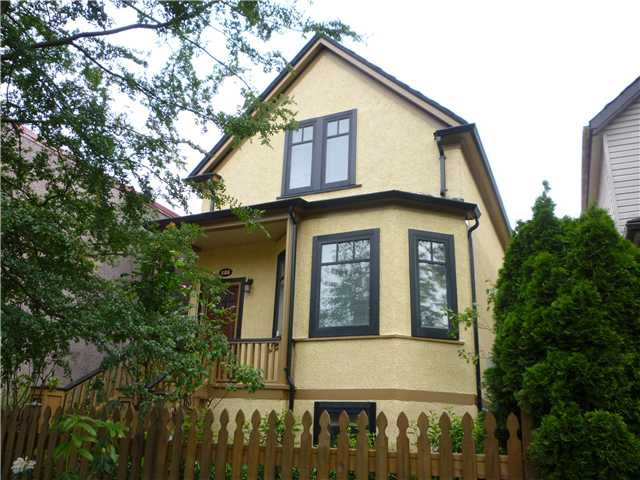 Main Photo: 886 KEEFER Street in Vancouver: Mount Pleasant VE House for sale (Vancouver East)  : MLS®# V835881