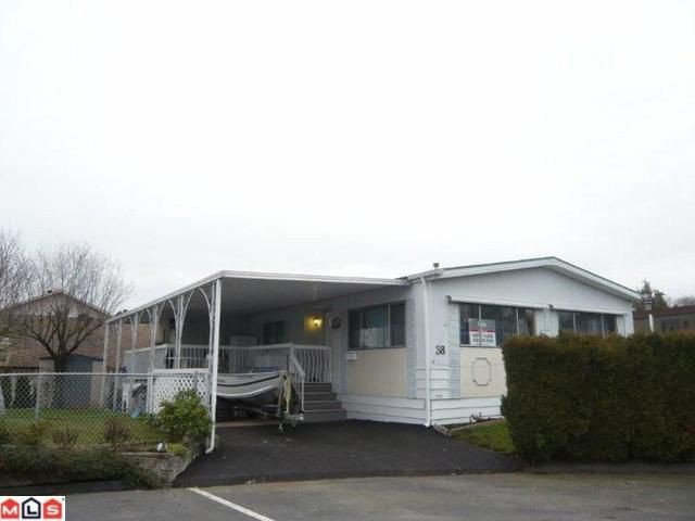 "Main Photo: 38 8254 134 Street in Surrey: Queen Mary Park Surrey Manufactured Home for sale in ""Westwood Estates"" : MLS®# F1102670"