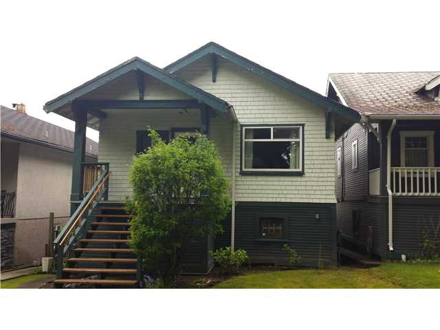 "Main Photo: 2323 GRAVELEY Street in Vancouver: Grandview VE House for sale in ""GRANVIEW"" (Vancouver East)  : MLS®# V1063357"