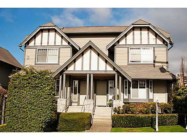"""Main Photo: 657 ST ANDREWS Avenue in North Vancouver: Lower Lonsdale Townhouse for sale in """"CHARLTON COURT"""" : MLS®# V1066090"""