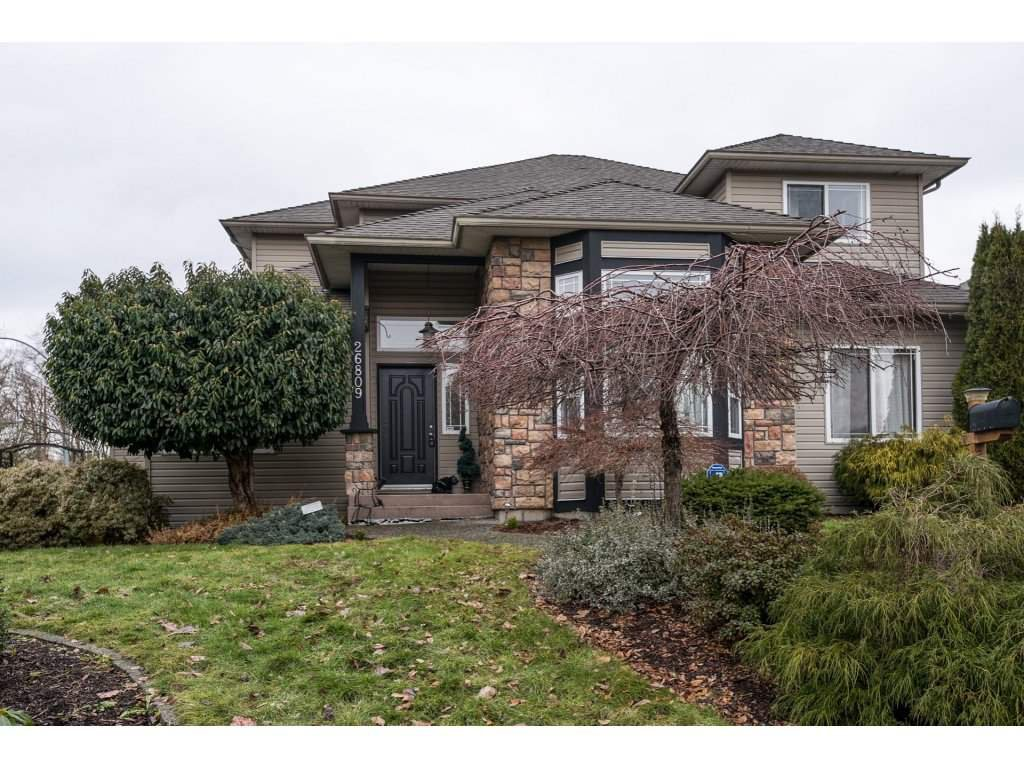 Main Photo: 26809 25TH Avenue in Langley: Aldergrove Langley House for sale : MLS®# R2133606