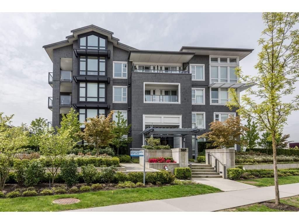 "Main Photo: 203 550 SEABORNE Place in Port Coquitlam: Riverwood Condo for sale in ""FREMONT GREEN"" : MLS®# R2164463"
