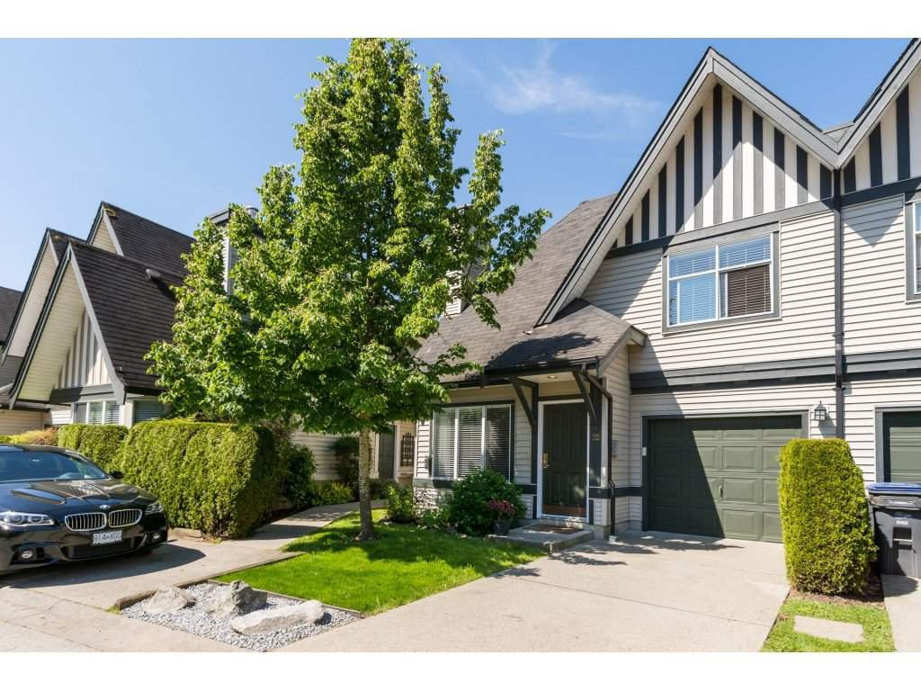 "Main Photo: 22 18883 65 Avenue in Surrey: Cloverdale BC Townhouse for sale in ""APPLEWOOD"" (Cloverdale)  : MLS®# R2170733"