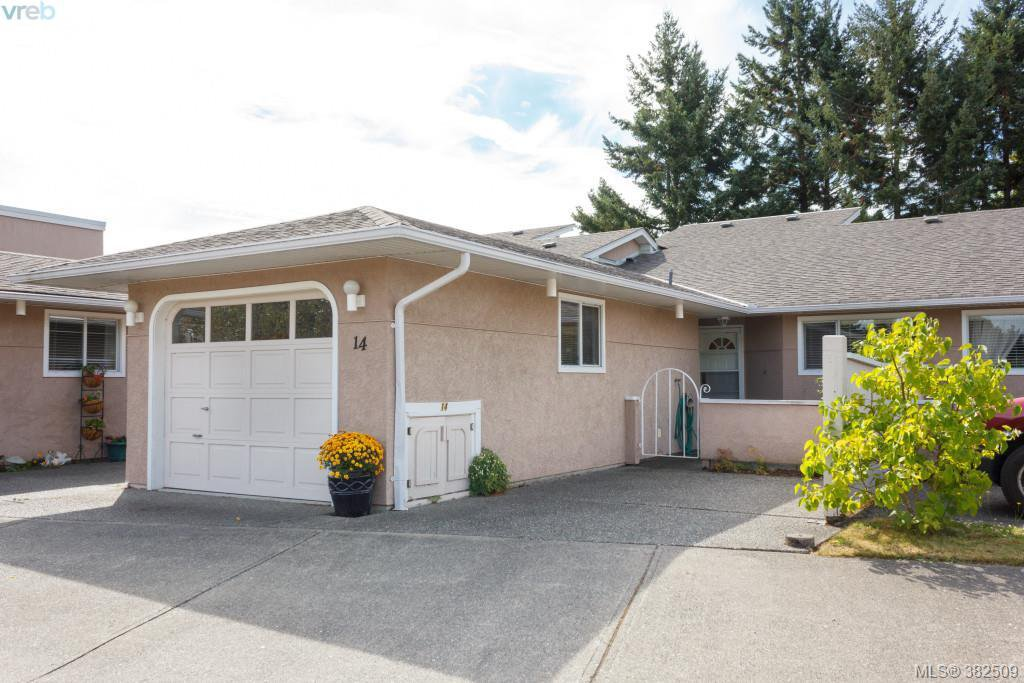 Main Photo: 14 3049 Brittany Drive in VICTORIA: Co Colwood Corners Townhouse for sale (Colwood)  : MLS®# 382509