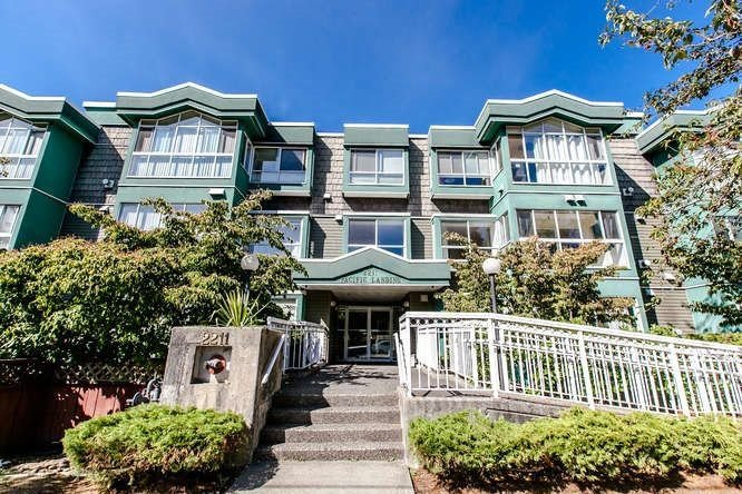 "Main Photo: 101 2211 WALL Street in Vancouver: Hastings Condo for sale in ""Pacific Landing"" (Vancouver East)  : MLS®# R2222742"