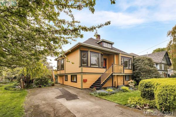 Main Photo: 1127 Chapman Street in VICTORIA: Vi Fairfield West Single Family Detached for sale (Victoria)  : MLS®# 363821