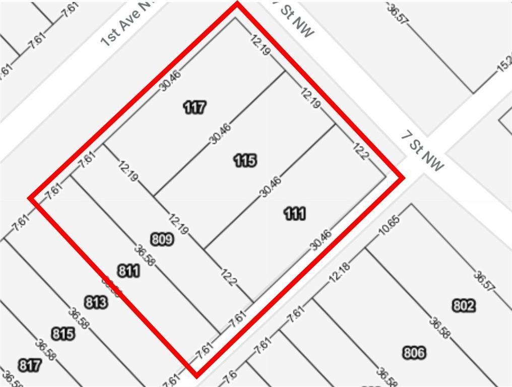 Main Photo: 1 AV NW in Calgary: Sunnyside Land for sale : MLS®# C4189741
