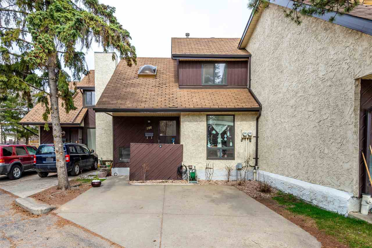 Main Photo: 706 SADDLEBACK Road in Edmonton: Zone 16 Townhouse for sale : MLS®# E4154163