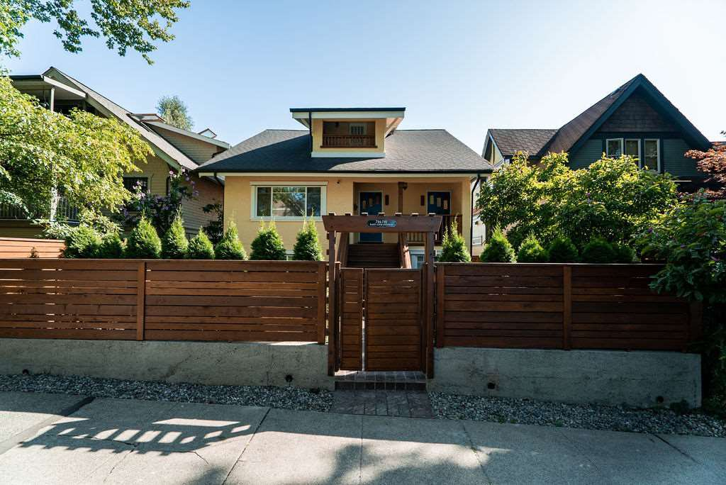 Main Photo: 722 E 15TH Avenue in Vancouver: Mount Pleasant VE House for sale (Vancouver East)  : MLS®# R2401172